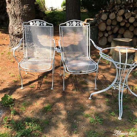 Paint For Wrought Iron Garden Furniture spray paint patio furniture our vintage wrought iron