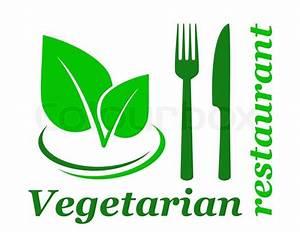 Vegetarisches Restaurant Magdeburg : vegetarisches restaurant zeichen vektorgrafik colourbox ~ Markanthonyermac.com Haus und Dekorationen
