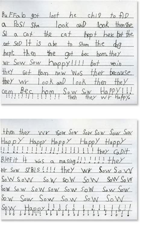 First Grade Writing Sample 4  Reading Rockets