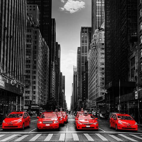 tableau new york taxis n0015 tableaux d 233 co personnalis 233 s contemporain toiles photo