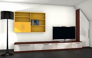 Wohnwand Nach Maß : moderne wohnwand mit materialmix meine m belmanufaktur ~ Markanthonyermac.com Haus und Dekorationen