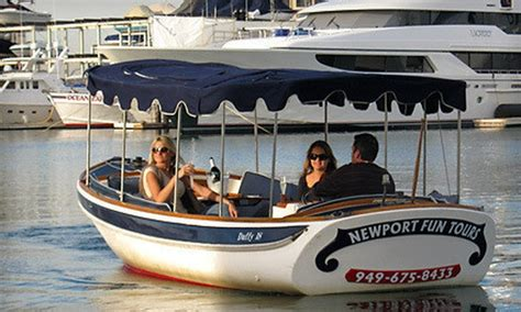Duffy Boat Rental Deals Newport Beach by Electric Boat Rental Newport Fun Tours Groupon