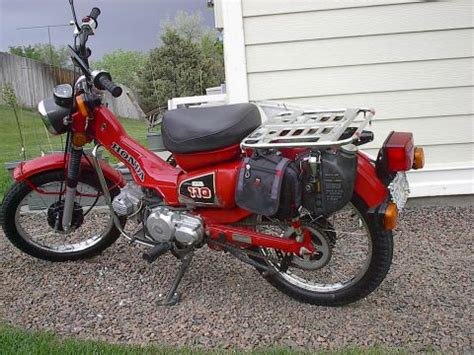 Honda Ct110 Trail 110 1984 Us 1984