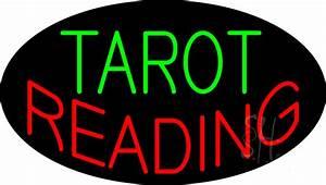 Tarot Reading Flashing Neon Sign | Tarot Reading Neon ...