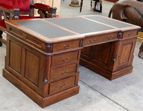 partner desk 180cm handcarved furniture office style ebay