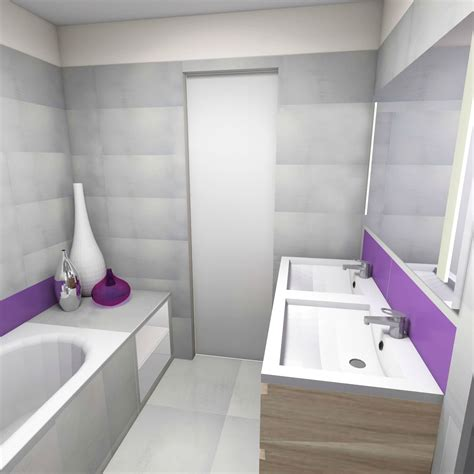 realisation salle de bain 3d
