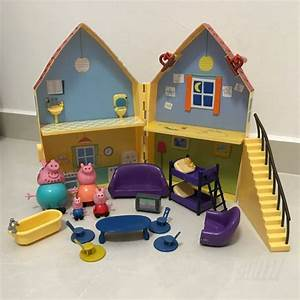 (ON HOLD) Authentic Peppa Pig House Toy Set, Babies & Kids ...