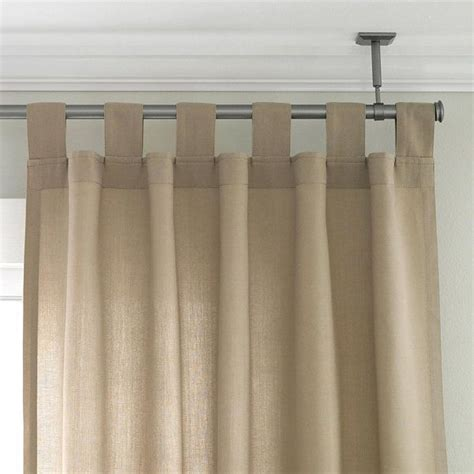 1000 ideas about ceiling curtain rod on ceiling curtains curtain rod canopy and