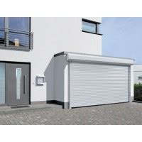 Hormann Porte De Garage Enroulable Rollmatic Blanc Et
