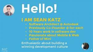 Building a culture of software development