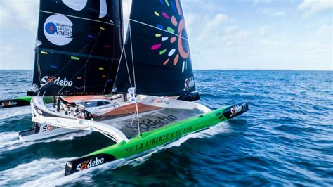 news sodebo ultim smashes record to win transat jacques vabre transat jacques vabre 2017