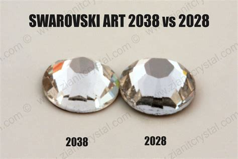 Swarovski Elements Art 2028, 2038 & 2058  Crystal Times
