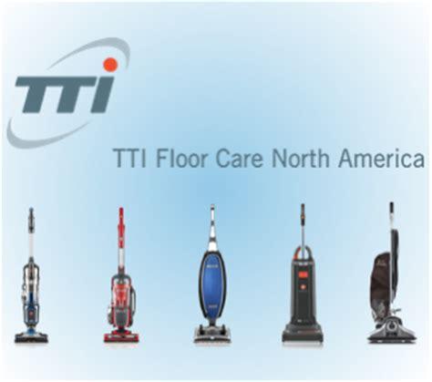 tti floor care brings marketing center to urp