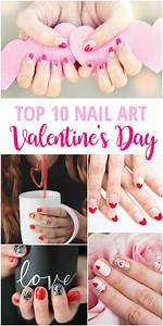 Top 10 Valentine's Day Nail Art - Pinned and Repinned