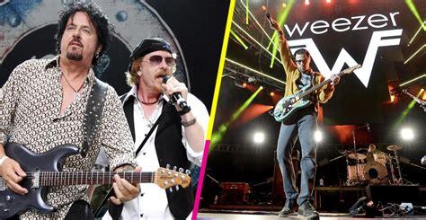 Toto Devuelven El Cumplido A Weezer Y Versionan
