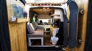 TINY CUSTOM VAN CONVERSION | FULL TOUR!!! ( 2010 Ford ...