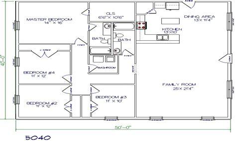 barndominium floor plans 40x60 studio design gallery best design