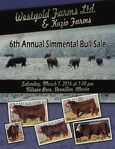 6th Annual Westgold Bull Sale by Bohrson Marketing ...