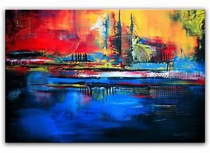 Moderne Kunst Leinwand : bild kreise struktur abstrakte kunst moderne malerei von alex b bei kunstnet ~ Markanthonyermac.com Haus und Dekorationen