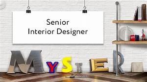 Senior Interior Designer Wanted - Mystery Ltd - Brand ...