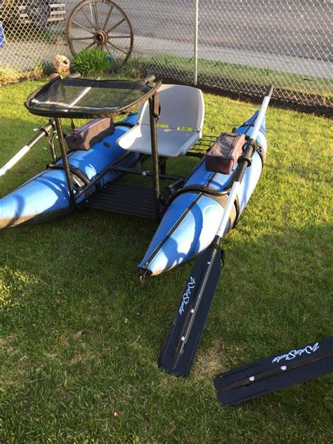 Inflatable Pontoon Boats Calgary by Forsale Or Trade Water Skeeter Double Take Inflatable