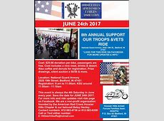 8th Annual Support Our Troops & Vets Ride Ladendorf Law