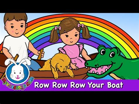 Row Row Row Your Boat Chinese Lyrics by Row Your Boat