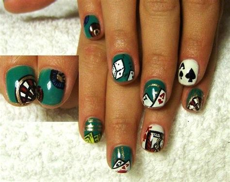 17 Best Images About Las Vegas / Casino Nail Art On