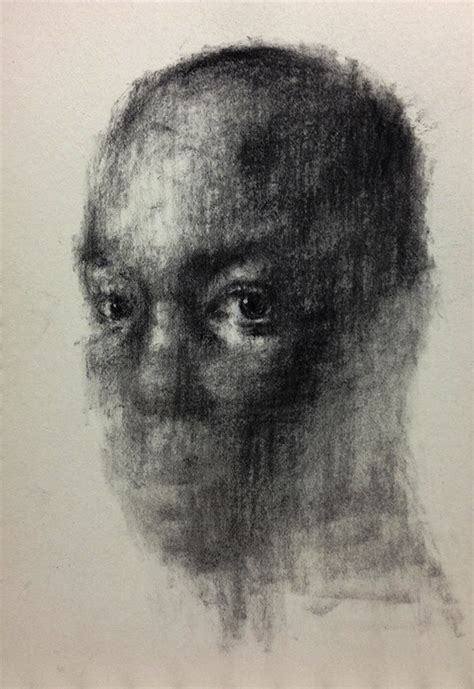 90 untitled charcoal on canvas 162 x 96 cm 2013 on behance