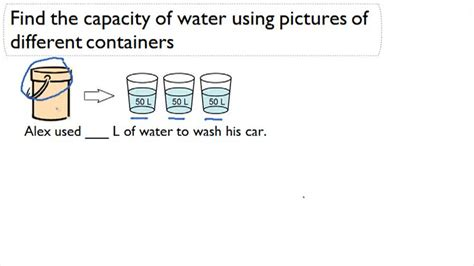 metric conversion of liters and milliliters to find equivalent units measurement