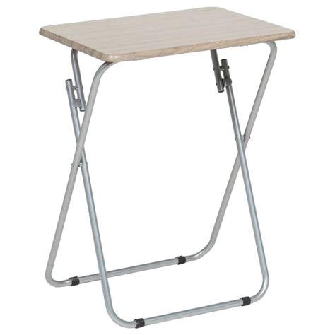 table d appoint pliante 70cm beige