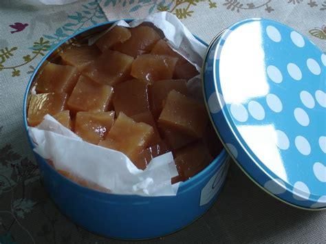gel 233 e de coings confiture de coings et pates de coings dans la cuisine de moe