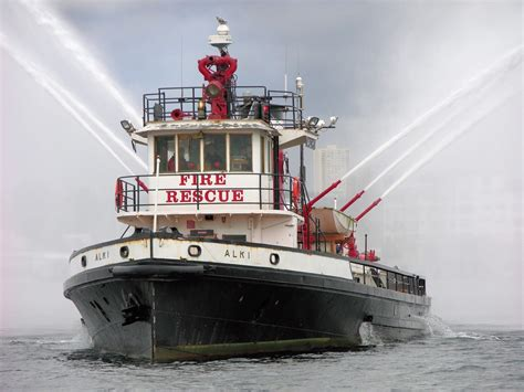 Used Fire Boat For Sale by Commercial Fire Boat Retired Seattle Fireboat 1927 For