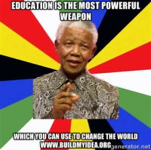 Education Is The Most Powerful Weapon Poster : tools buildmyidea ~ Markanthonyermac.com Haus und Dekorationen
