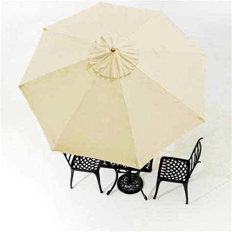 9ft umbrella replacement canopy 8 ribs outdoor market