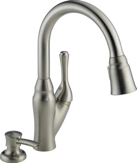 delta 174 velino 1 handle pull sprayer kitchen faucet at menards 174