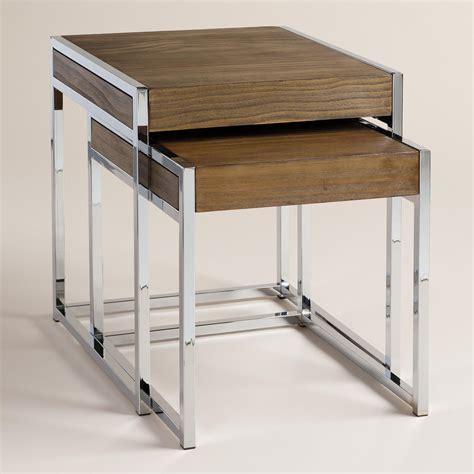 Wood And Chrome Pierceson Nesting Tables, Set Of 2  World. Golden West Pool Tables. Active Desk. How To Make Your Own Desk Organizer. Architecture Desk Lamp. Music Studio Desk Workstation. Portable Standing Laptop Desk. Broyhill Writing Desk. Walmart Sofa Tables