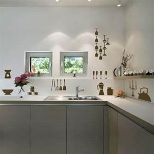 Wandgestaltung Ideen Küche : 57 interessante deko ideen f r k che ~ Markanthonyermac.com Haus und Dekorationen