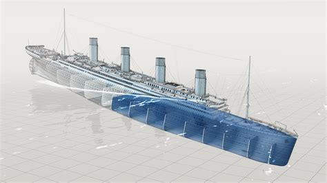 Titanic Sinking Animation 3d by The Riddle Of The Titanic 2011 Olivier Michon