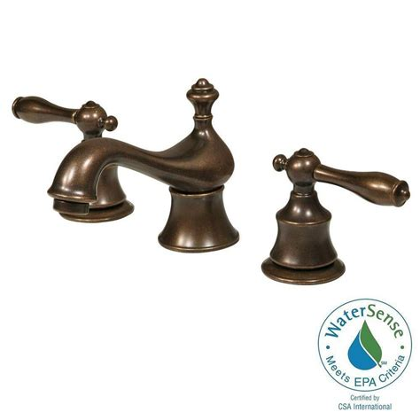 pegasus bamboo single 1 handle vessel bathroom faucet in heritage bronze 67109w 7096h the
