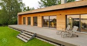 Fertighaus Bungalow Holz : moderner bungalow von baufritz design bungalow designhaus bungalow ~ Markanthonyermac.com Haus und Dekorationen