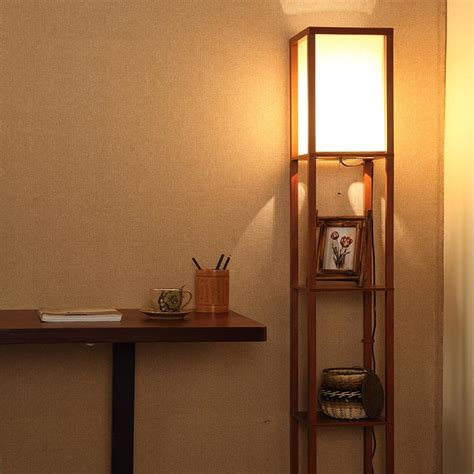 Mainstay Floor L With Shelves by Shelf Floor L Threshold Floor Shelf L With Ivory Shade