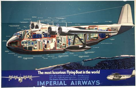 Flying Boat Movie by Imperial Airways The Most Luxurious Flying Boat In The