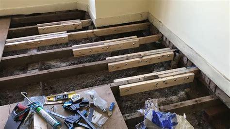 sistering floor joists floor matttroy
