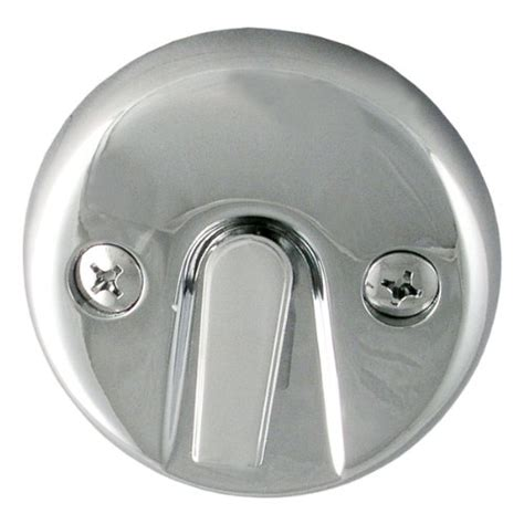 ldr 502 5110 bath tub waste and overflow trip lever plate chrome drain stoppers ebay