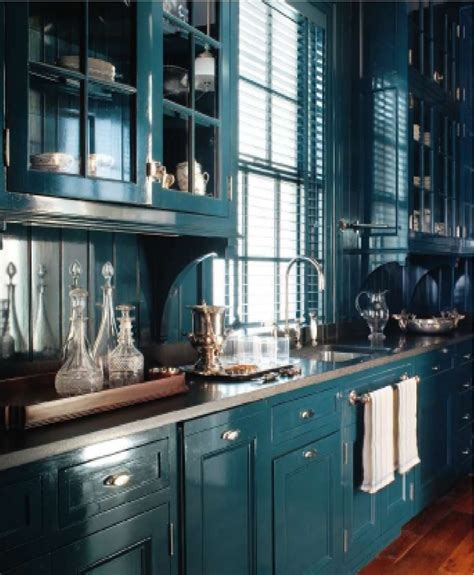 teal blue kitchen cabinets quicua