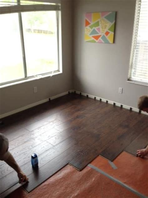 colors gray and laminate flooring on