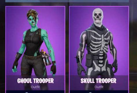 Fortnite Ghoul Trooper Halloween Costume