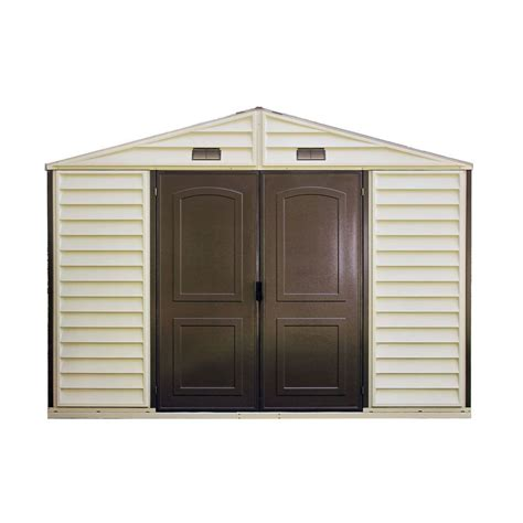 shop duramax building products storage shed common 10 ft