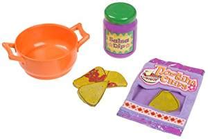 the explorer tortilla chips salsa play food set for talking kitchen toys